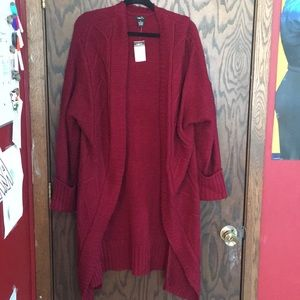 Maroon Oversized Sweater *NWT*